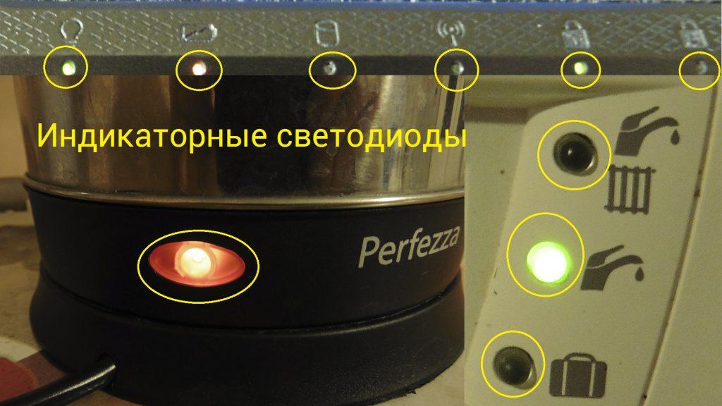 Светодиоды индикаторные