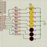 Светодиодная гирлянда на микроконтроллере