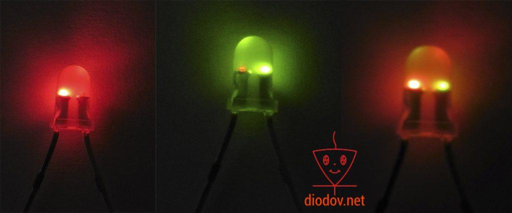 Двухцветный светодиод