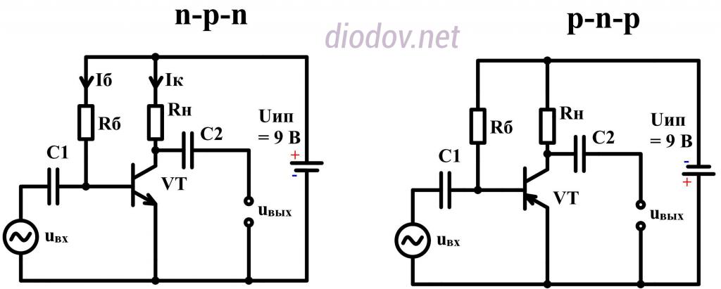 Схема усилителя звука на транзисторах