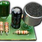 Микрофонный усилитель Усилитель на транзисторах #3