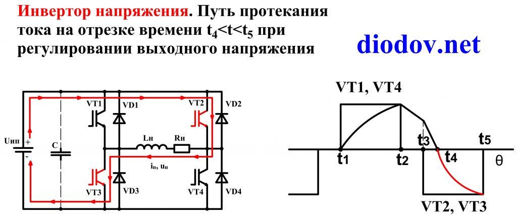 Схема преобразователя напряжения на транзисторах