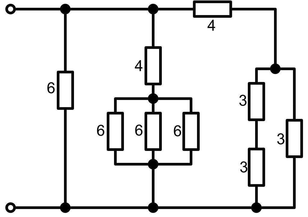 Смешанное соединение резисторов