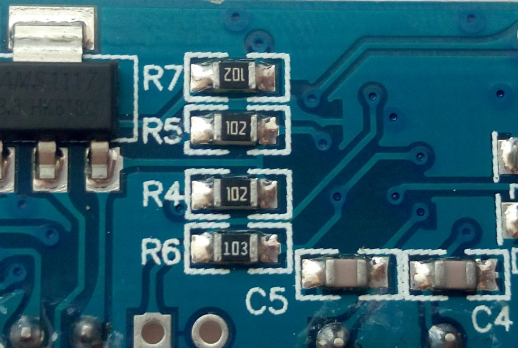 SMD резисторы