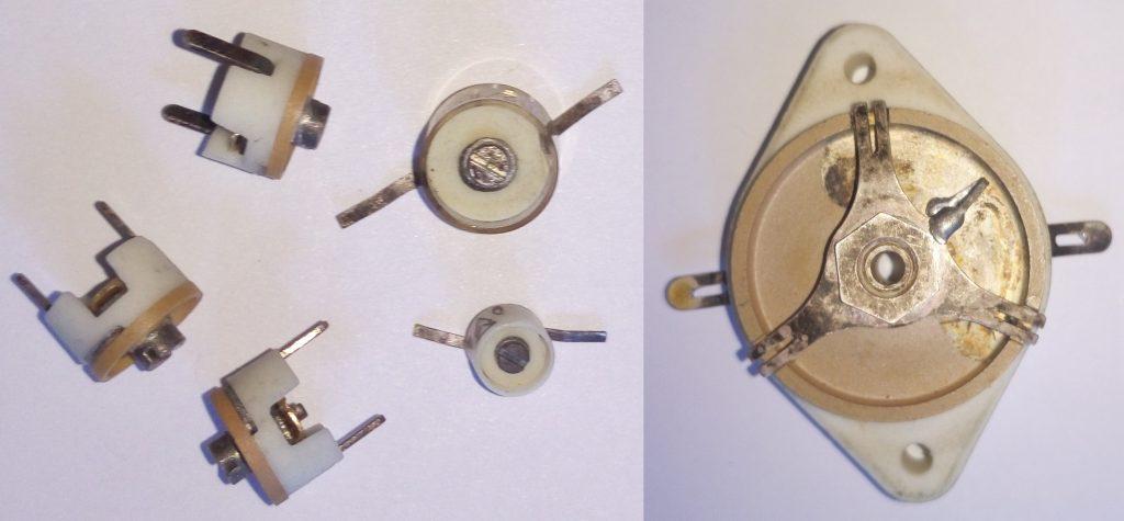 Подстроечные конденсаторы