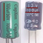 Замена электролитического конденсатора