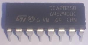 TEA2025B стерео усилитель звука