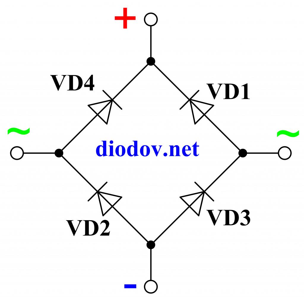 Как проверить диодный мост