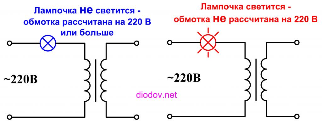 Как проверить первичную обмотку трансформатора