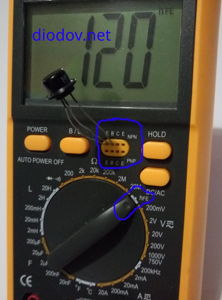 Как проверить транзистор мультиметром наверняка
